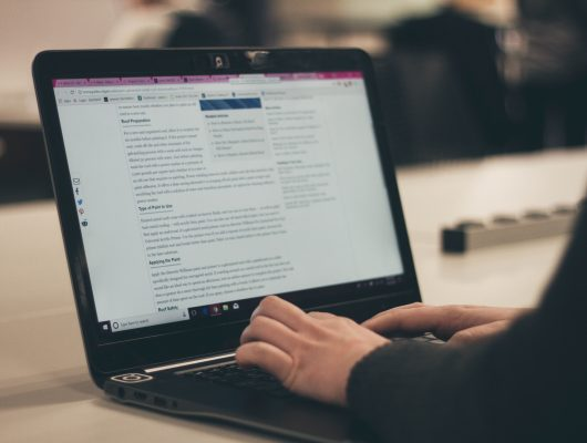 Laptop work | Earn By Blogging-Top 6 Proven Tips For Earning | getdigitaloffice.com