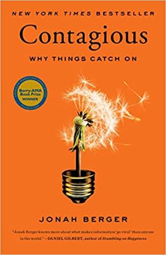 Contagious: why things catch on book   Best digital marketing books 2021   www.getdigitaloffice.com